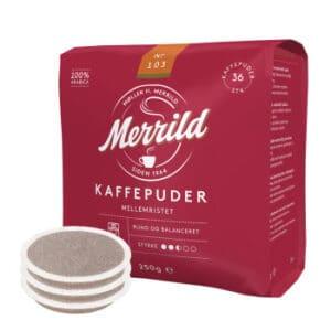 senseo kaffepuder medium merrild